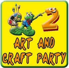 Art & Craft button