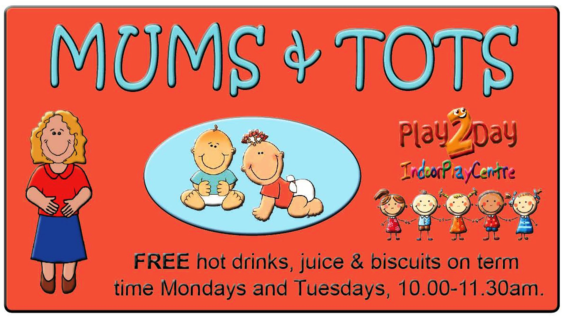Mums & Tots children's adventure play sessions at Play2Day Wisbech