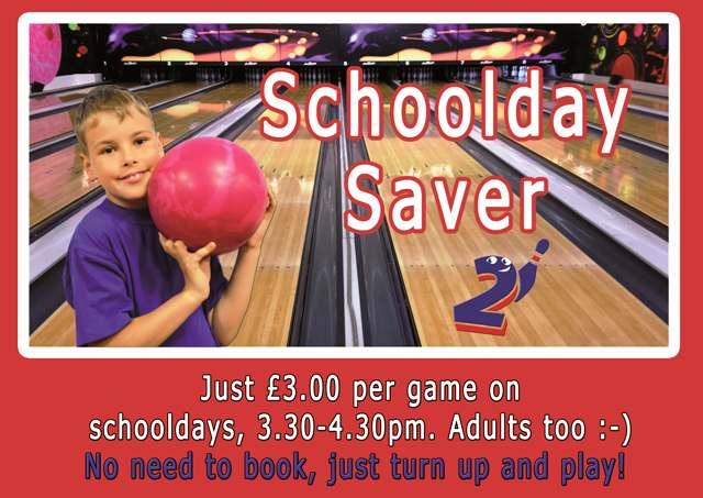 Tenpin Bowling School Day Saver