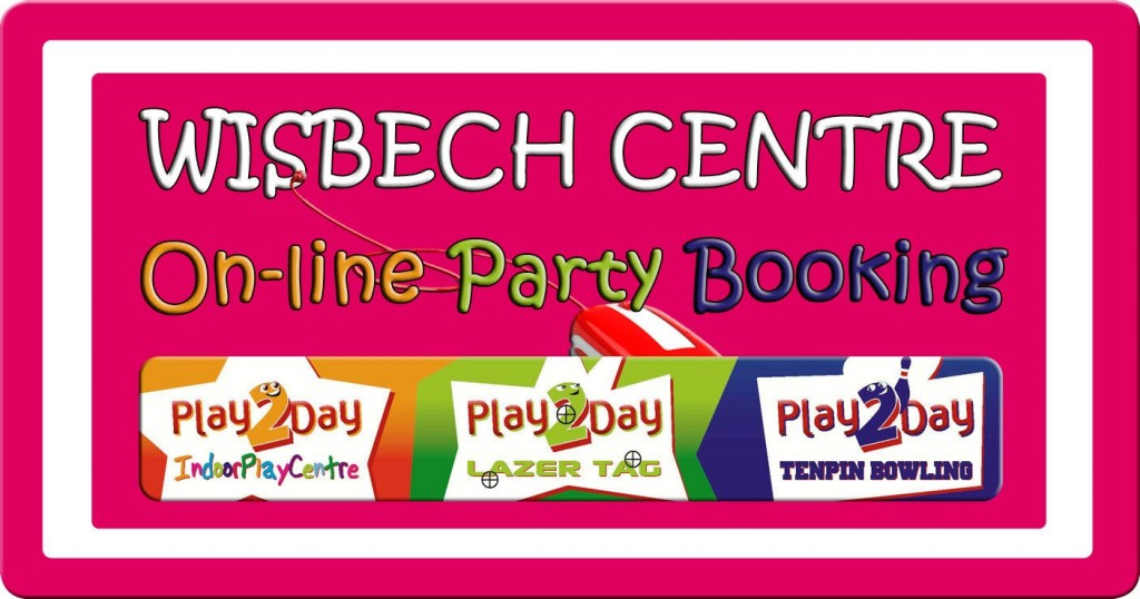Play2Day On-line Party Booking Page